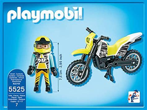 Mobile Motocross Motorrad by Playmobil Sports Moto De Motocross