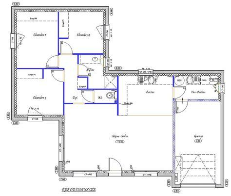 Plan Maison A Etage 4005 by 91 M 178 Type F4 Catalogue Constructeur Maison