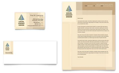 Key Bank Letterhead Financial Services Letterhead Templates Designs