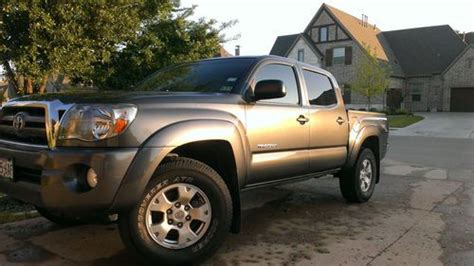 Toyota Tacoma Road Package Buy Used 2009 Toyota Tacoma 4x4 Trd Road Tow Package