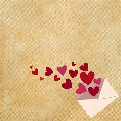 Illustration gratuite: Arrière Plan, Lettres, Coeur