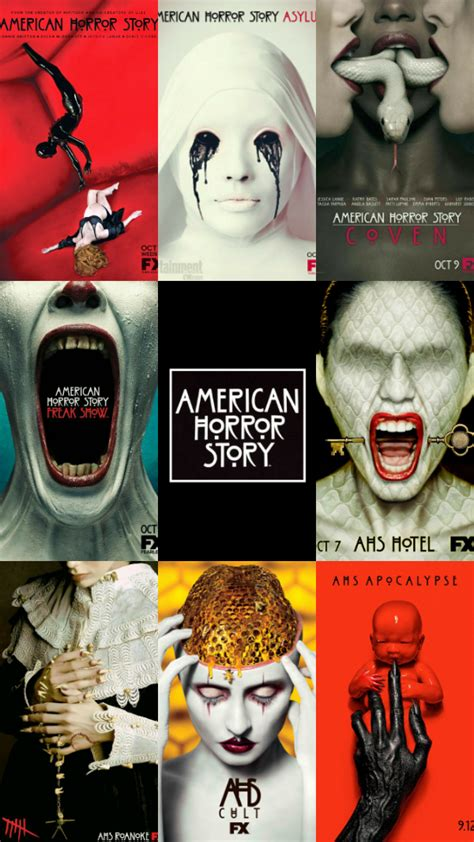 ahs hasta la cuarta temporada american horror story
