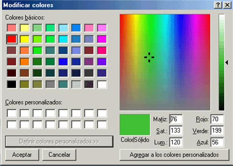 paint herraminetas de color