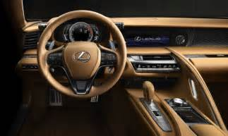 Lexus Interior Interior Design Of The New Lexus Lc 500 Lexus