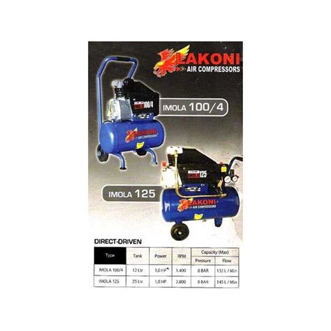 Kompresor Lakoni 125 lakoni imola 125 kompresor angin udara