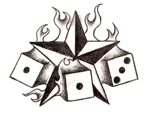dice tattoo designs dice art 6 wonderful dice designs