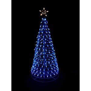 home accents holiday 6 ft 3 in 350 light led blue