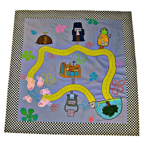 Sponge Play Mats by Out Of Mind Spongebob Play Mat