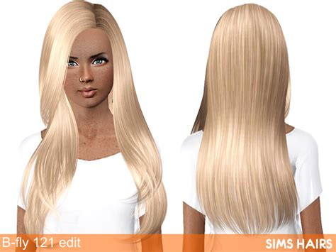fly sims 121 af hairstyle retextured by sims hairs for sims 3 b fly sims 121 af hairstyle retextured by sims hairs