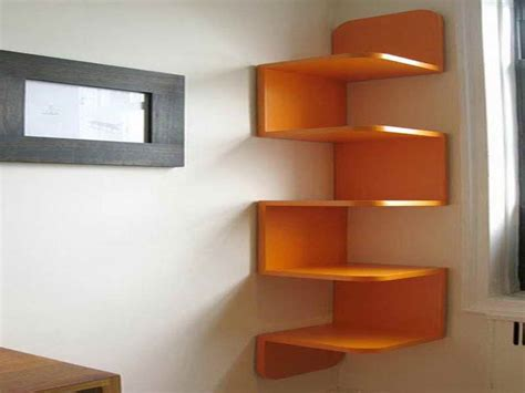 bloombety wall shelf ideas the corner different options