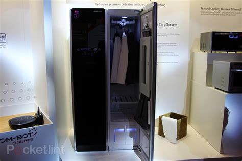 Steam Closet hang up worn in lg styler to keep them fresh and