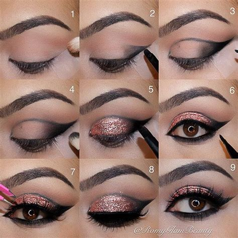 steps to doing burgundy hair with brown and caramel highlights 40 eye makeup looks for brown eyes page 2 of 4 stayglam