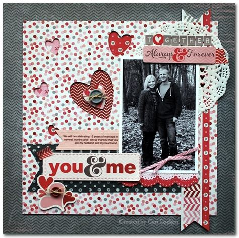 valentines scrapbook ideas 17 best images about 5 x 7 photo layouts for scrapbooking