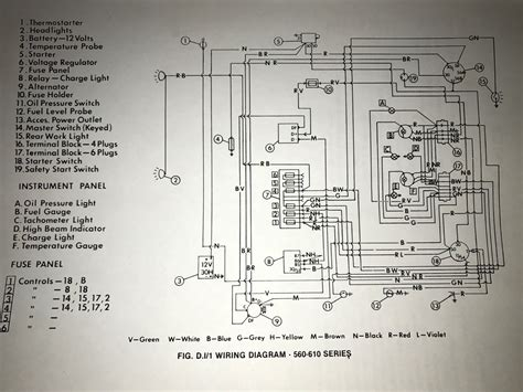 electrical wiring tractor wiring diagrams