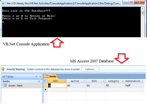 delphi console tutorial how to make vb net console application with ms access