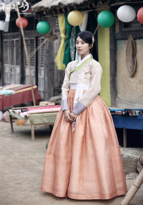 film drama korea suzy miss a missa suzy in hanbok drama gu family book ฮ นบก