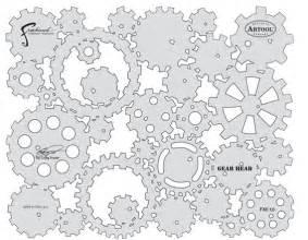 Gear Template by Kustom Fx Ii Gear Template Stencils