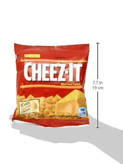 Cheez It Big Original 11 7 Ounce kellogg s cheez it baked snack crackers original 1 5