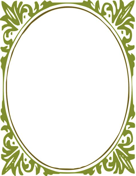 frame clipart oval picture frame clipart clipground