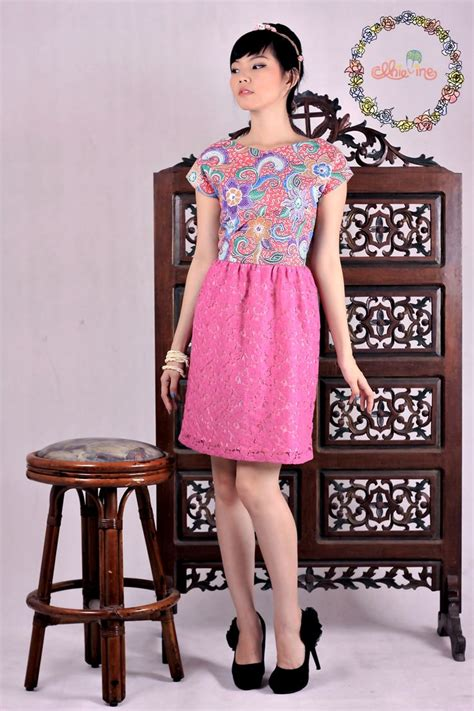Dress Batik Anak Obral 1 25 best images about model dress modern even it s batik on kebaya lace lace and shops