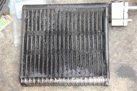 Evaporator Suzuki Baleno mengenal korosi pada evaporator ac mobil dan akibatnya