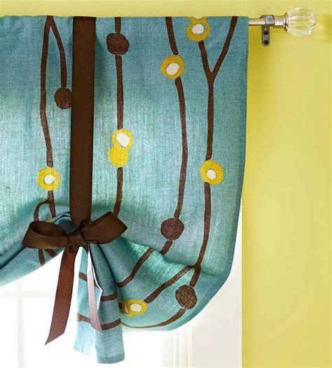 diy tie up curtains tie up valance diy home cuteness for the home pinterest