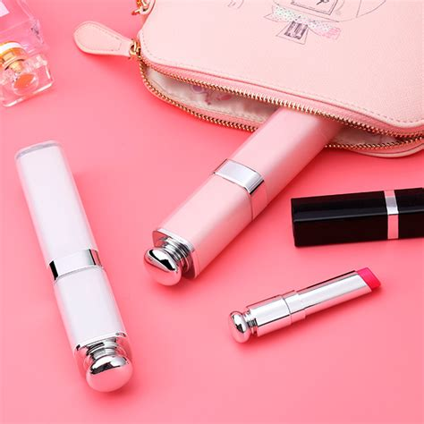 noosy lipstik selfie stick with wired shutter br14 pink jakartanotebook