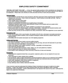 contract for safety template safety contract templates 9 free word pdf format