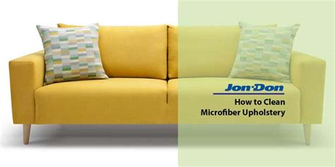 cleaning polyester microfiber couch how to clean microfiber upholstery jon don