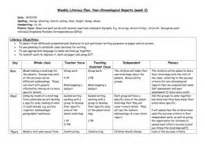 Planning Frame For Report Writing by Non Chronological Reports Planning By Taw2704 Teaching Resources Tes