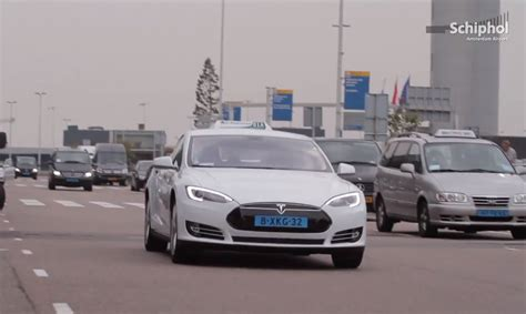 Auto Taxi by Amsterdam S Schiphol Airport Is Psyched About Its New