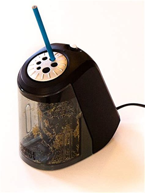 best pencil sharpener for colored pencils electric pencil sharpener by humble genius heavy duty