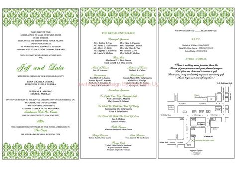 wedding layout philippines sle wedding invitation design philippines choice image