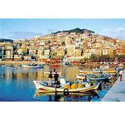 Plomari On Lesvos Island Lesbos  Greece Sappho Travel