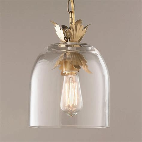 clear glass pendant lights for kitchen island acanthus and clear glass dome pendant light traditional
