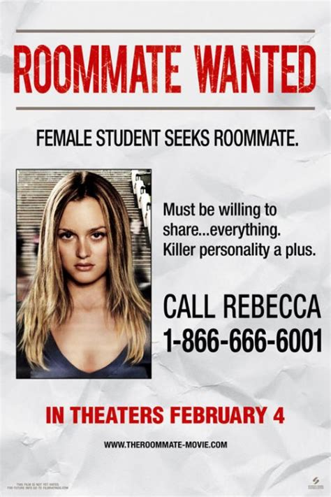 room mate wanted the roommate teaser trailer