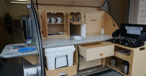 Photos Of Galley Options Teardrops Etc Pinterest Trailers Trailer Storage And Teardrop   photos of galley options teardrops etc pinterest