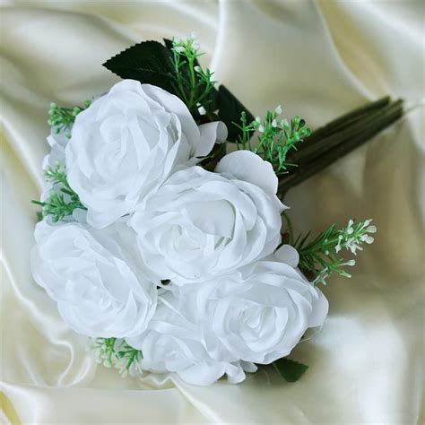 Silk Roses Artificial Bouquets Wedding Flowers Silk Flower Wedding Centerpieces