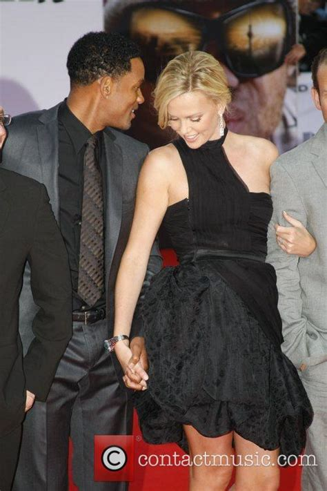 Could Charlize Theron Play Smith In Biopic by Will Smith German Premiere Of Hancock At Cinestar