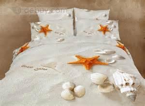 Seaside Duvet Cover Fairytale Beach Printing Whole Cotton 4 Piece Duvet Cover