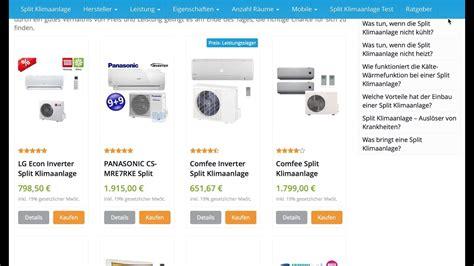 Test Klimaanlagen Split by Split Klimaanlage 12000 Btu Split Klimaanlagen Test