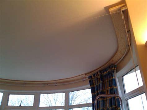 curtain tracks for bay windows ceiling curtain tracks for bay windows begenn
