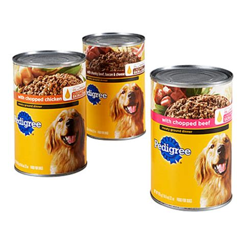canned puppy food pedigree 174 canned food big lots