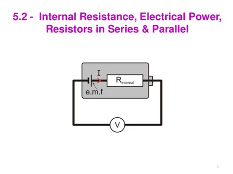 power and resistors in series 5 2 resistance power combining resistors