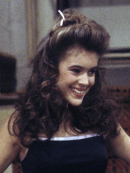 prom hair in the 80 alyssa milano hairstyles and prom looks on pinterest