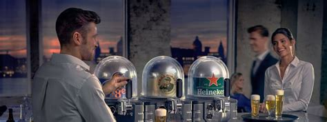 make a bar on any counter with heineken�s blade draught