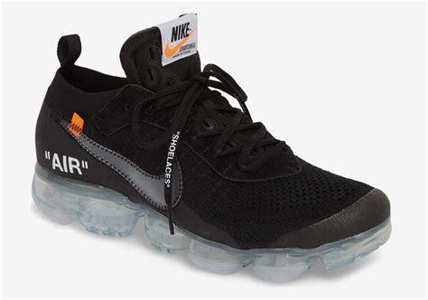 new sneaker releases white x nike vapormax black release info sneakernews
