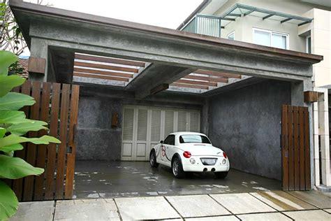 desain pergola minimalis desain carport mewah desain tipe rumah