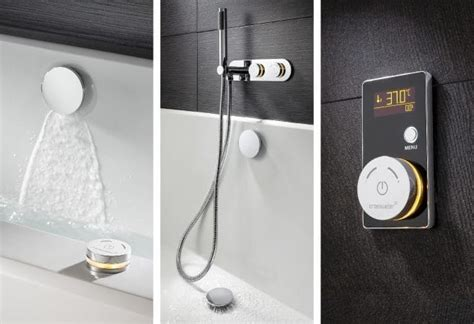 Bathroom Shower Controls High Tech Gadgets To Upgrade Your Bathroom The High Tech Society