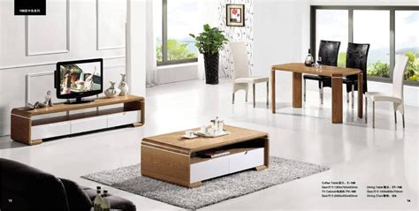 Living Room Table Sets Of 3 Living Room Coffee Table Tv Cabinet And Dinning Table Set
